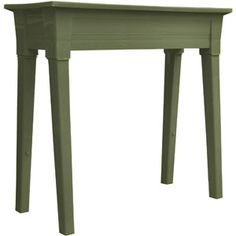 Online $29.00.Adams Garden Planter.Brown (L x W x H): 36.0 x 15.5 x 34.0. Put board over top & use as table over toilet with hidden storage. Yes, I thought of this myself!
