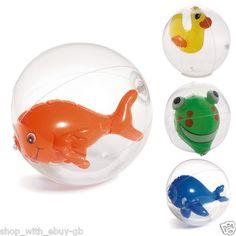 Novelty Fun Beach Ball Holiday Swimming Pool Volley Garden Kids Toy 20cm Duck | eBay