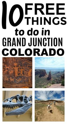 Check out this list of 10 free things to do in Grand Junction, Colorado. This is such a great list!