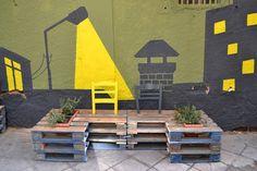 Mueblesdepalets.net: Revitalización urbana con palets