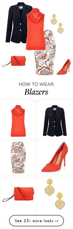 """""""Untitled #313"""" by sarah-beth-rich on Polyvore featuring River Island, Pure Collection, Vince Camuto and Kenneth Jay Lane"""