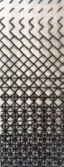 Blackwork Sample 1 - Pattern Development