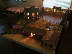 Gingerbread Bates Motel from 'Psycho' - Imgur