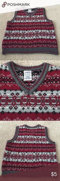 Gymboree sweater vest Gymboree sweater vest Gymboree Shirts & Tops Sweaters