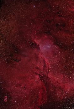 Crimson Flares (NGC NGC 6188 is an emission nebula (excited hydrogen gas t.
