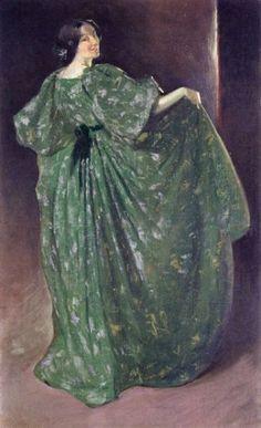 'Green Girl' by John White Alexander