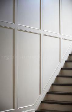 Recessed panels create depth & shadow. Oakville Interior Design Project: Beyond the Blueprint   Regina Sturrock Design Inc