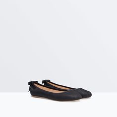 BALLET FLATS WITH BOW from Zara Girls