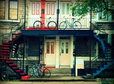 The unique architecture of #Montreal's Plateau neighborhood