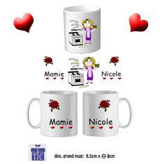 Mug céramique, Mamie dans la cuisine Hmmm!!!