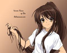 Haruhi... mi misión, es dejarme crecer el cabello así :D