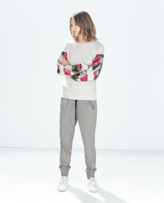 ZARA - WOMAN - BEADED SWEATSHIRT