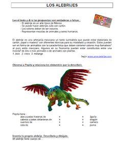 Voici une petite fiche d'activités sur les fameux alebrijes mexicains. A exploiter avec le film Coco. Pourquoi ne pas s'associer avec le pro...