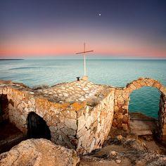 Landmarks Photograph - Stone Chapel by Evgeni Dinev