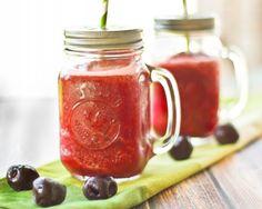 Cherry Lemonade Slush