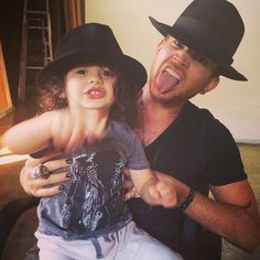 Adam Lambert with his godson, Riff Cherry | Source: Adam Lambert Instagram