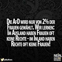 #AfD #Wahlen #Frauen #Rechte #Frauenrechte #Rechts #Deutschland #Politik #Sprüche #besenstilvoll
