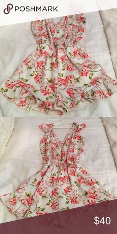 Cute floral romper Urban outfitters floral romper. Pins and needles Pins & Needles Dresses