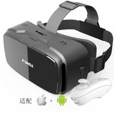 >> Click to Buy << Vr box Sansui 3d glasses/virtual reality goggles google cardboard headset gear vr + Smart Bluetooth Remote Control Gamepad #Affiliate