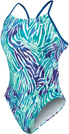 this is my favorite swim suit!  Nike swim Animal Attraction - Cut Out Tank