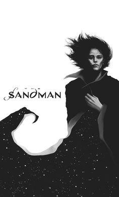 geek culture The Sandman by Werlioka Dc Comics, Batman Comics, Neil Gaiman, Geek Culture, Pop Culture, Morpheus Sandman, Sandman Tattoo, Death Sandman, Vertigo Comics