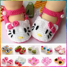 New Boutique girls Animal crochet baby shoes,Rabbit infant girl boot,Frog infant moccasins,Cartoon bowknot crib shoes #JH009-in First Walkers from Mother & Kids on Aliexpress.com | Alibaba Group