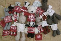 Ravelry: bunnyknitter's christmas toys