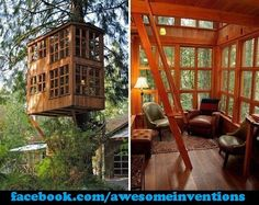 If i was a kid and i had this treehouse.,i would live in it if i could.!