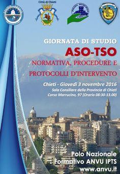 Chieti Giornata di studio  ASO-TSO giovedì 3 novembre