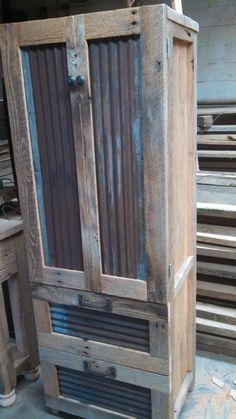 YOUR Custom Rustic Barn Wood Tall Dresser by timelessjourney, $500.00