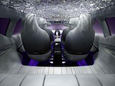 Renault Initiale Paris Concept Interior Rendering