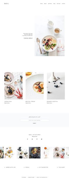 Showit Free Photography Website Template by the Design ...