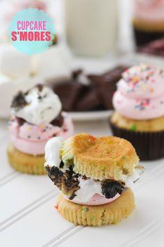Cupcake S'mores