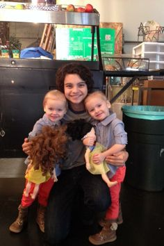 The twins with Max Burkholder | #Parenthood