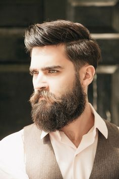 Hairstyles For Men With Beards Justlifestyle Shared A Photo From Flipboard  Mens Hair Styles