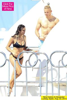 Nina Dobrev soaked up the sun in Ibiza for a little mini-vacation with none other than 'Hunger Games' hottie Alexander Ludwig! Is there a new romance in the works? Nina Dobrev, 25, could finally have a new man in her life! The Vampire Diaries actress was spotted on a yacht in Ibiza with Alexander Ludwig, 22, and these two couldn't stop smiling. Is Alexander the perfect guy for Nina to move on with after her split from Ian Somerhalder, 35? Nina Dobrev & Alexander Ludwig Together Now this ...