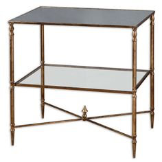Henzler Lamp Table Uttermost End Tables Accent Tables Living Room Furniture
