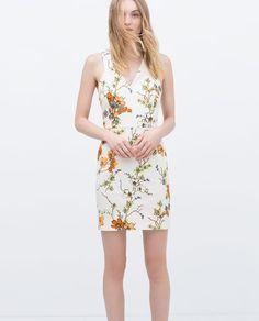 PRINTED DRESS-Woman-NEW THIS WEEK   ZARA United States