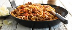 Best Ever Bolognese recipe from Food in a Minute