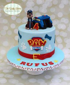 Paw Patrol Cake - Cake by The Crafty Kitchen - Sarah Garland