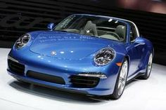 The 2014 Porsche 911 Targa is introduced to the media during the 2014 North American International Auto Show held at Cobo Center in downtown Detroit on Monday, Jan. 13, 2014. / Romain Blanquart/Detroit Free Press