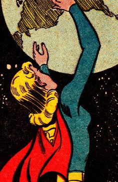 COMIC BOOK CLOSE UP SUPER GIRL Action Comics #335 (March 1966) Art by Jim Mooney