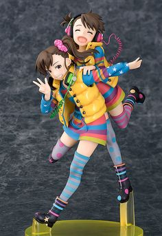 The 9th in the Idolm@ster DVD jacket series! The mischievous twin idols - Ami & Mami Futami! From the anime series Idolm@ster* comes a 1/8th scale figure featuring both of the mischievous twins - Ami Futami and Mami Futami! The pose is based on the illustration by director Atsushi Nishigori seen on the fourth volume of the Blu-ray & DVD jacket for the anime series, and is the first in seri... #tokyootakumode #figure