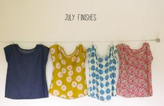 July Finishes :: Celebrating Independence Zippy Tops pattern by See Kate Sew