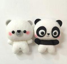 Cute felt plushies