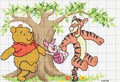 punto croce winnie the pooh - Google zoeken