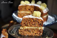 Tort de morcovi vegan | Retete culinare cu Laura Sava - Cele mai bune retete pentru intreaga familie Mai, Tiramisu, Ethnic Recipes, Tiramisu Cake