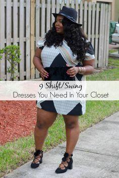 470ffe2b83da8 9 Shift Swing Dresses You Need In Your Closet - Chante Burkett