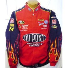 New Chase Authentics NASCAR Jeff Gordon #42 Dupont Racing Jacket  - I have one.....