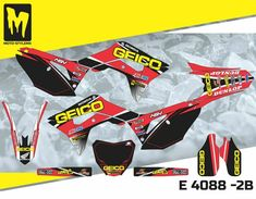 Honda CRf 2018 up to 2019 Moto StyleMX graphics decals kit stickers Honda, Mx Bikes, Dirtbikes, Motocross, Decals, Graphics, Kit, Stickers, Ebay